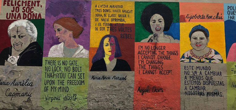Feminist Mural